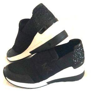 Wedged MK slip on sneakers